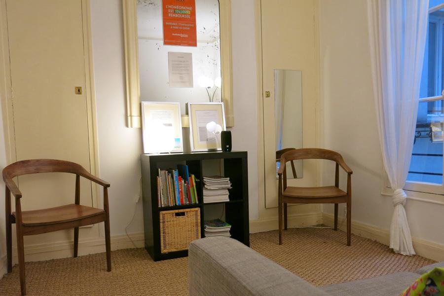 Venir au cabinet du Docteur Avogadri-Boyer Homéopathe à Paris
